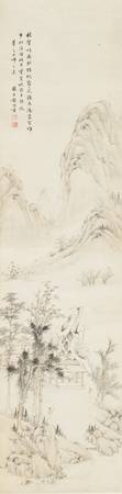 Huang Jun 1775-1850 LANDSCAPE AFTER WEN BOREN