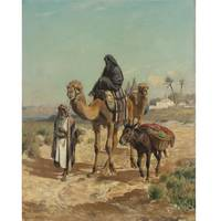 George Peter ACTIVE LATE 19TH CENTURY AN ARAB TRAV