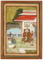 GOUACHE HEIGHTENED WITH GOLD, BENGAL, CIRCA 1770.