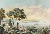 LOUIS-FRANÇOIS CASSAS; VIEW OF CONSTANTINOPLE FROM