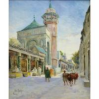 LOUIS ABEL TRUCHET ; MOSQUE IN TUNIS