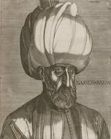 Melchior Lorck , Portrait of Suleyman the Magnific