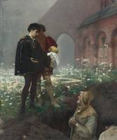 Pascal Adolphe Jean Dagnan-Bouveret ,  HAMLET AND