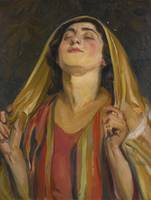 Wilhelm Wachtel 1875-1942 HANNAH AT PRAYER