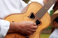 Typical Azores guitar
