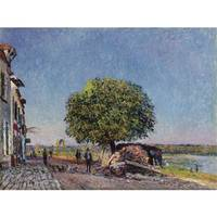 Alfred Sisley 1839 - 1899 THE CHESTNUT At Saint-Ma