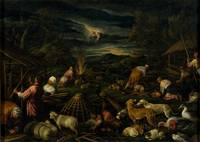 ANONYMOUS (WORKSHOP OF BASSANO) Noah after the Flo