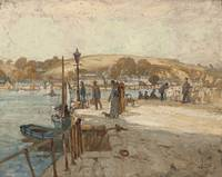 ALBERT HENRY FULLWOOD, THE PORT OF FLUSHING, 1913