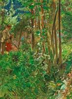 ANDERS ZORN,   (SUN IN THE FOREST).