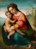 Florentine School, 16th century, The Virgin and Ch