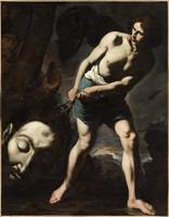 Andrea Vaccaro - David with the Head of Goliath