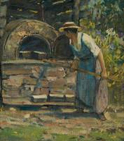 Bake Oven by Peleg Franklin Brownell