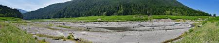 Elwha River Panorama (formerly Lake Mills)