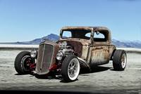 1935 Chevrolet Rat Rod Coupe 'Pass the Salt'