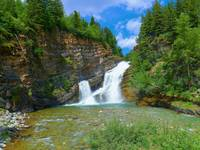 Cameron Falls - Waterton Lakes National Park