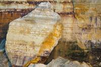 Rock Slabs, Pictured Rocks Nat'l Lakeshore, MI