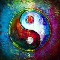 Yin Yang - Colorful Painting VI
