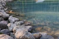 Lake Louise Rocks and Water