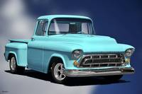 1957 Chevrolet 3100 Stepside Pickup II