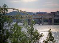 Fort Duquesne Bridge 4 from downtown