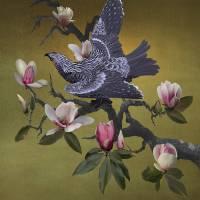 Rain Bird in Magnolia Tree by I.M. Spadecaller