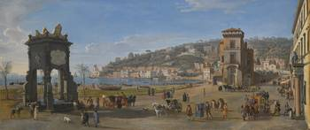 Gaspar van Wittel, called Vanvitelli NAPLES, A VIE