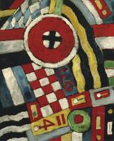 Berlin Abstraction by Marsden Hartley