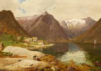 Georg Saal, The Sognefjord in Norway