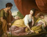 Benjamin West - Cymon and Iphigenia