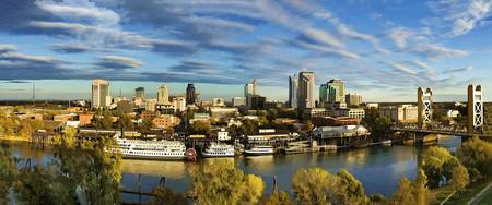 City Skyline Sacramento California