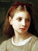 A Little Girl by William-Adolphe Bouguereau