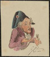 George Cruikshank 1792-1878 French Brandy
