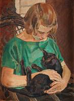 CARL WILHELMSON,  (THE BLACK CAT).
