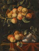 Carlo Manieri Still Lifes With Fruit And Glass Taz