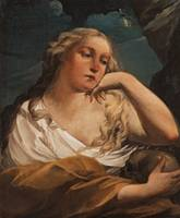 CARLO CIGNANI ATTRIBUTED TO, MARY MAGDALENE.