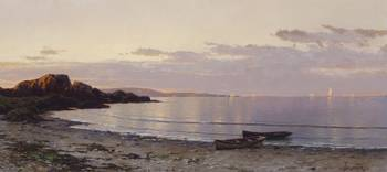 Coastal View at Sunset by Alfred Thompson Bricher