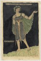Costume design for Bosch Nymph, Richard Roland Hol