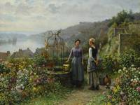 Daniel Ridgway Knight - At the Well