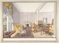 Design for interior , Charles de Brocktorff (Danis