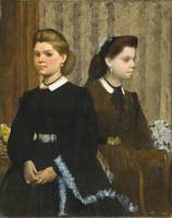 Edgar Degas - The Bellelli Sisters (Giovanna and G