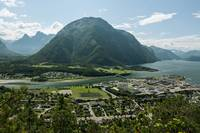 Andalsnes Leirplass mountain in Norway