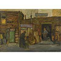 Jerome Myers 1867-1940 VENDORS' ROW