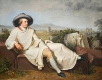 Goethe in the Roman Campagna (1786) by Johann Hein