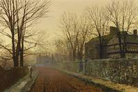 John Atkinson Grimshaw - A November Morning [1883]