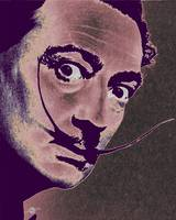 Salvador Dali Pop Art Painting 2