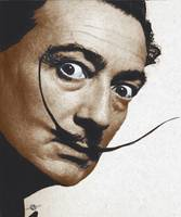 Salvador Dali Realistic Painting