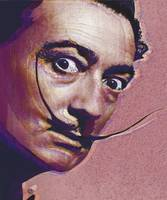 Salvador Dali Pop Art Painting 1