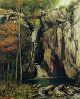 Gustave Courbet - The Chasm at Conches 1864
