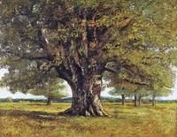 Gustave Courbet - The Oak at Flagey 1864