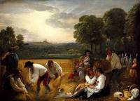 harvesting at windsor 1795, Benjamin West